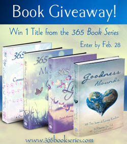 365 Book Series Giveaway